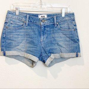 PAIGE Jimmy Jimmy Short Jean Shorts